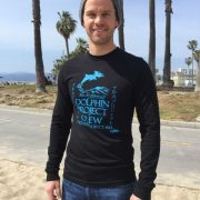 Men's Dolphin Project Crew Long Sleeve worn by Switched at Birth actor Ryan Lane