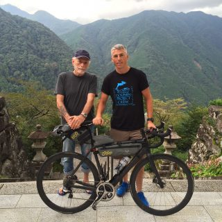 Ollie Blackmore and Ric O'Barry, Japan