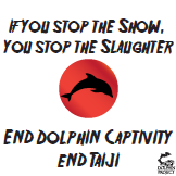 Stop the Slaughter Stop the Show End Dolphin Captivity