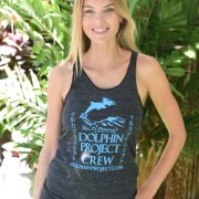 Women's Dolphin Project Crew Tank Top 1