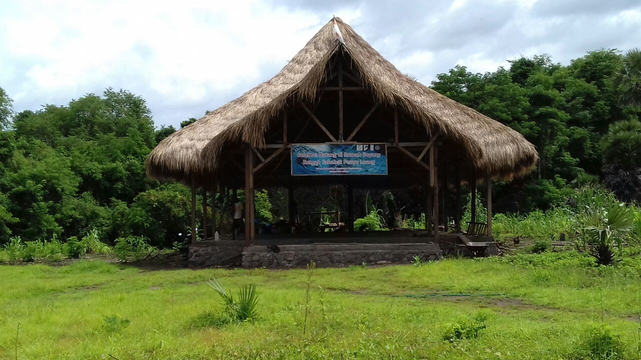 Marine education center in Flores, Indonesia.