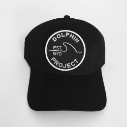 Dolphin Project Black Twill Hat with 1970 Patch