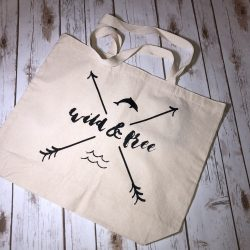 Wild and Free Tote