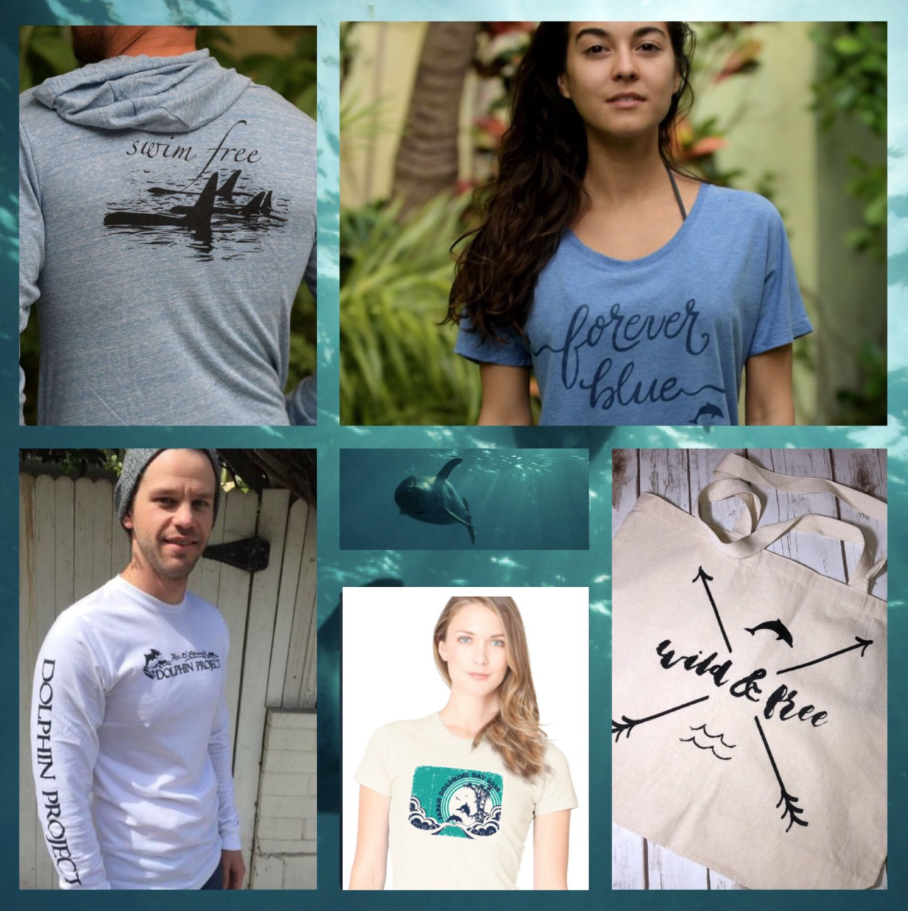 Shop Dolphin Project authentic gear and be a voice for the voiceless
