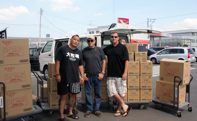 Enson Inoue and Ric Help Fukushima Victims