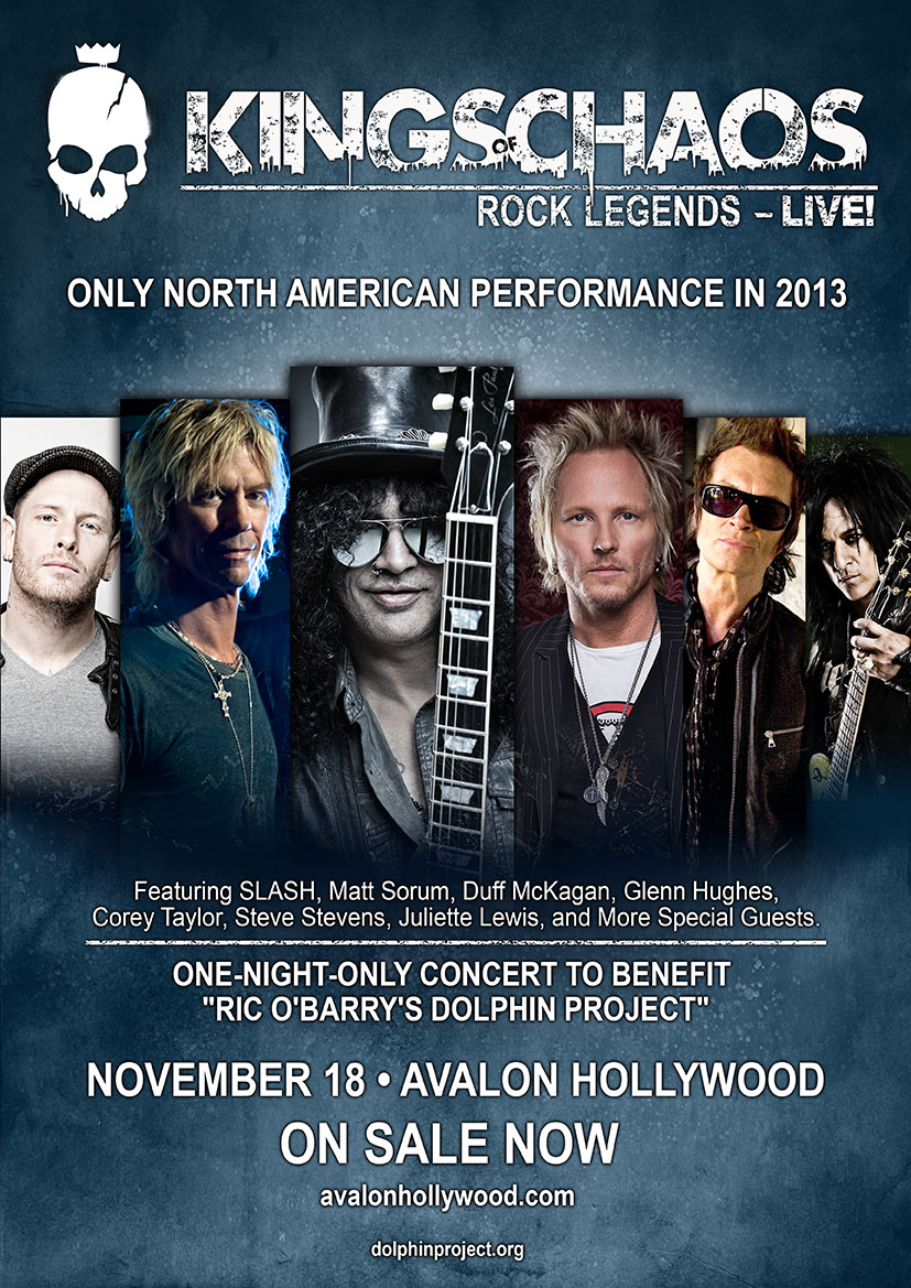 Los Angeles Benefit Concert for Dolphin Project