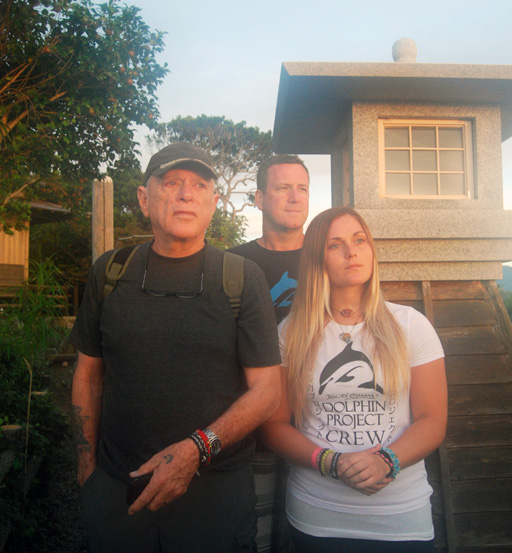 With Ric O'Barry on Patrol in Taiji