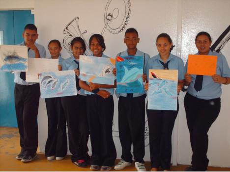 An Art Project for the Dolphins
