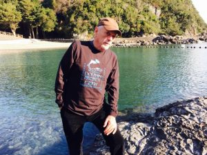 Ric O'Barry at the Cove in Taiji