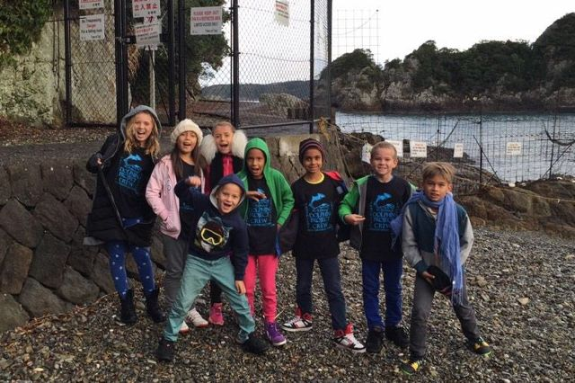 Dolphin Project welcomes kids from Gecko Community to Taiji