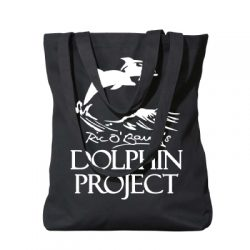 Dolphin Project Black Tote w/ White Logo