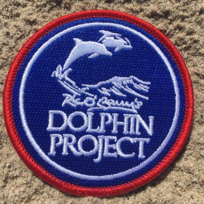 Round Dolphin Project Patch