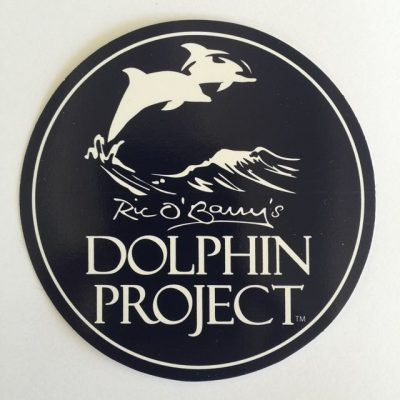 Dolphin Project Logo Round Decal