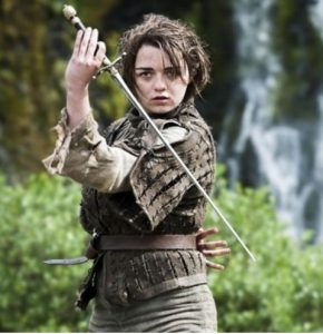 Want to win Maisie Williams' script from Episode 1, Season 1 of Game of Thrones?