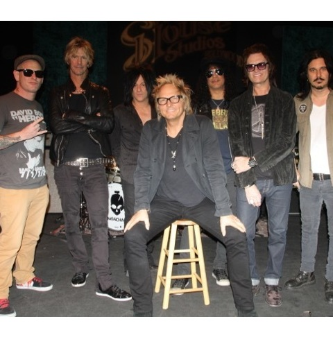 Win a chance to jam with the Kings Of Chaos in Hollywood.