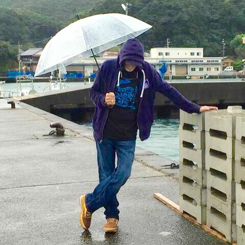 """The level of cruelty here is breathtaking. And sometimes I need to be alone."" Ric O'Barry after witnessing the brutal dolphin slaughter Photo: DolphinProject.com"