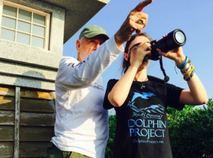 Ric O'Barry's Dolphin Project at the Cove with Maria Nangle