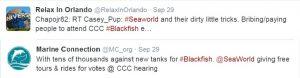 SeaWorld Twitter Responses