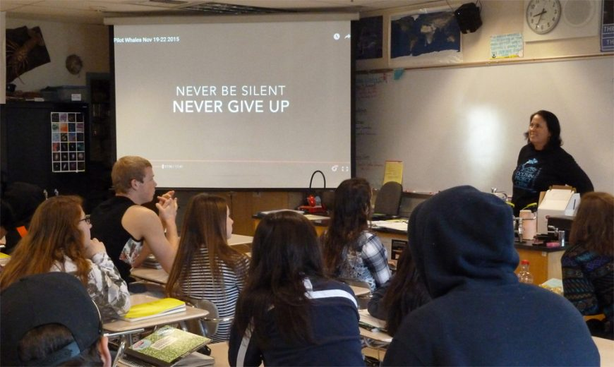 Never Be Silent, Never Give Up, Taji, Japan, The Cove, Cove Monitors, Dolphin Hunting, Kids, Education, SeaWorld, Don't Buy A Ticket