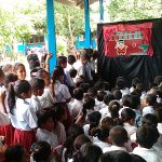 Puppet Show, Lembata, Flores, in Indonesia