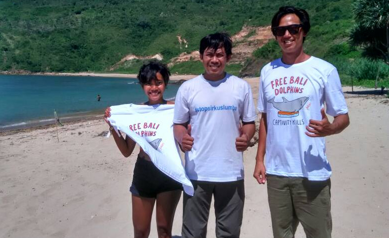 Young Surfers Agree: Leave Dolphins Wild & Free!