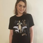 Maisie Williams A Girl Will Save Dolphins charity tee