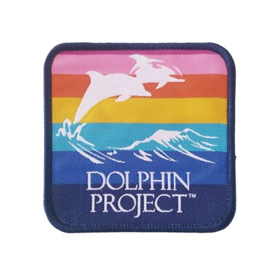 Dolphin Project Square Rainbow Patch