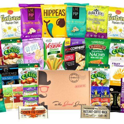 vegan snack box donation